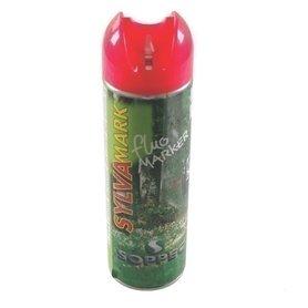 Farba Spray znakujący do prac leśnych czerwony