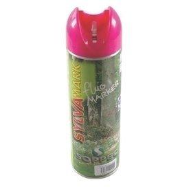 Farba Spray znakujący do prac leśnych różowy
