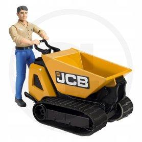 Bruder Kontener z figurką pracownika budowlanego