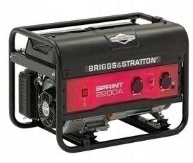 AGREGAT PRĄDOTWÓRCZY B&S SPRINT 2200A BRIGGS